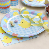 Easter Chick Plates (8)